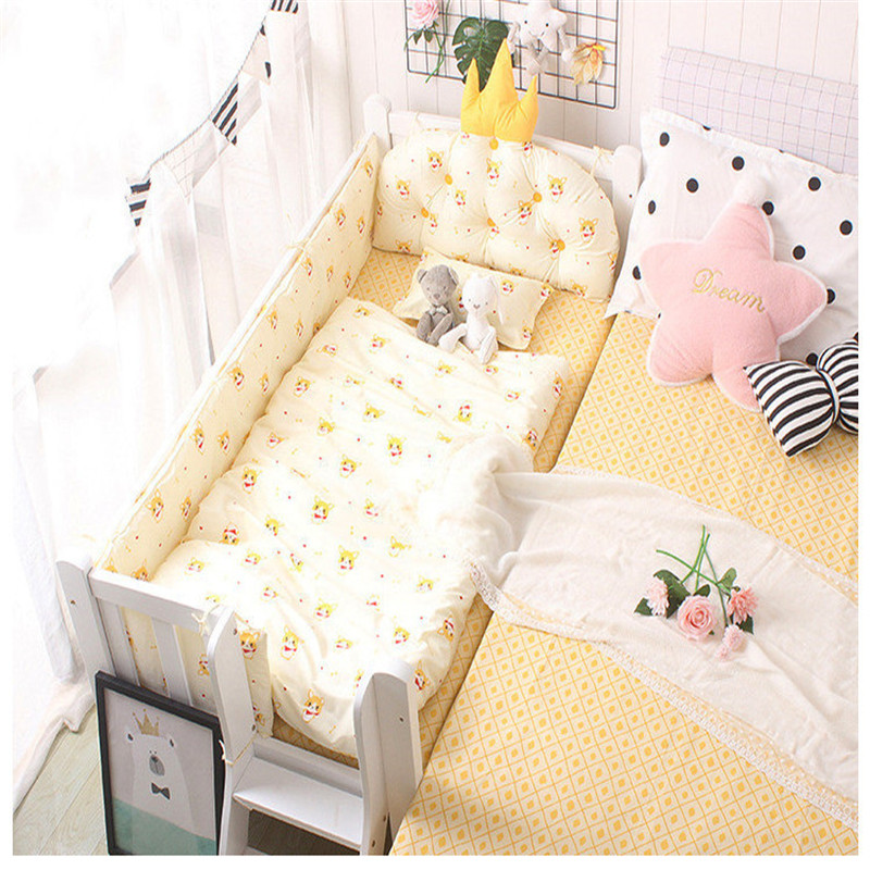 Baby Bedding Set Kids Quilt Cover Without Filling 1pc Cotton Crib Duvet Cover Cartoon Baby Cot Quilt Cover 150*120cm Breathable
