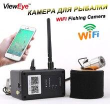 ViewEye Original Visible WIFI Video Fishing Camera Fish Finder Fish Cam Waterproof Night Vision 12pcs Lamp Underwater Camera New