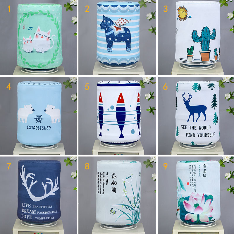 Bucket Purifier Tools Water Dispenser Home Accessories Drinking Fountain Decor 24*38CM 1 PCS Dust Cover  Fabrics