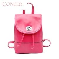 Charming Nice CONEED Fashion Women Lether Trvel Shoulder Stchel Backpacks School Bag Best Gift Wholesle Y35