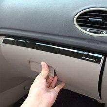 1 шт Нержавеющаясталь автомобиль бардачок пилот хранения пайетки Стикеры отделка Подходит для Ford Focus 2 MK2 2005-2011 LHD аксессуары