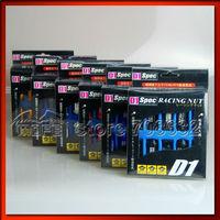 Light Weight Aluminum D1 Spec Racing Nuts P 1 25 L 50mm Red Black Silver Blue