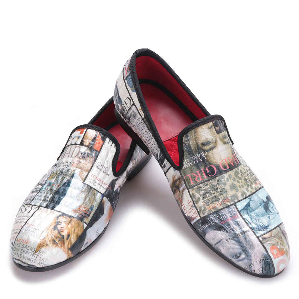 Magazine pattern graffiti Loving Shoes trend to help mens shoes mens dress shoesMagazine pattern graffiti Loving Shoes trend to help mens shoes mens dress shoes