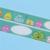 1 Unds/pack Nuevo Diseño del Pájaro 2.5 cm * 10 m de Papel Diy Sticky Etiqueta Adhesiva cinta Decorativa Del Washi