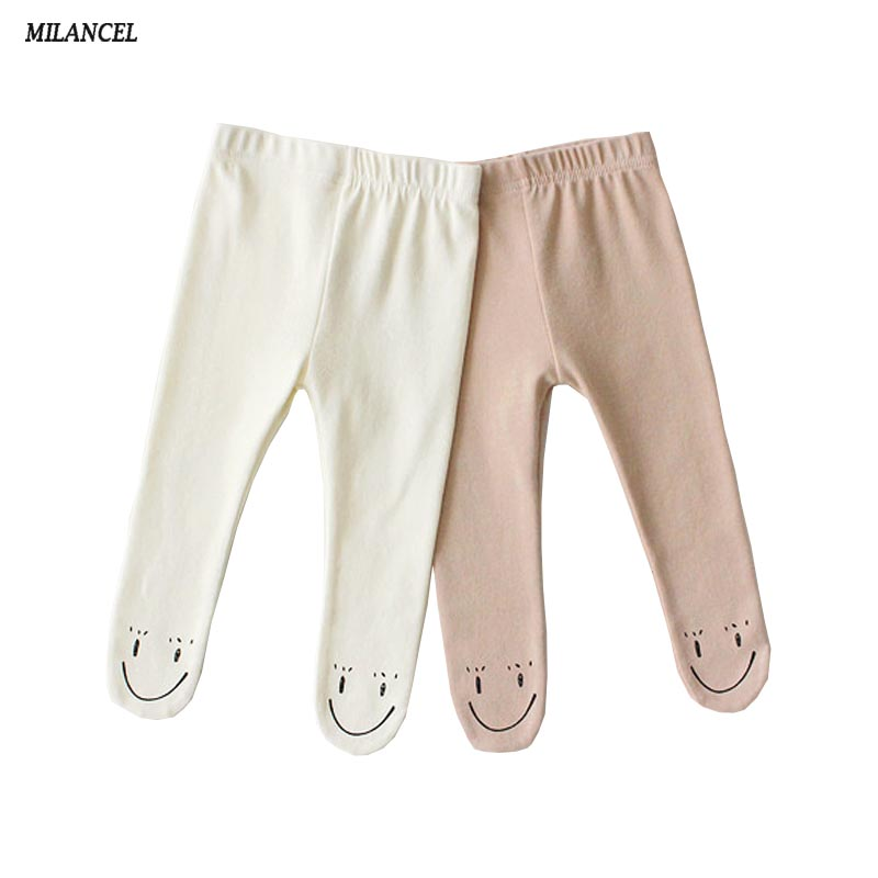 MILANCEL 2019 Baby Clothing Cotton Girls Tights Cartoon Style Tights For Boys Baby Stocking Tights For Baby Girl
