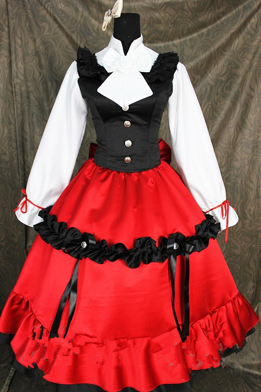 Anime Axis Powers Hetalia Hungary cosplay costume