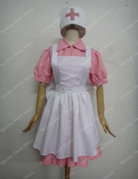 Pocket Monsters Nurse Joy Custom Made Uniform Anime Cosplay Costume
