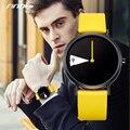 SINOBI Мужские кварцевые часы  модные  роскошные  творческие  топовые  кожаные часы  Прямая поставка SK19