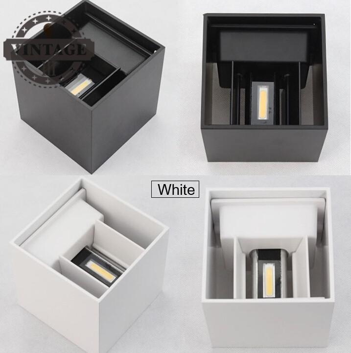 Lâmpadas de Parede levou superfície montado ajustável cubo Garantia : 1 Year