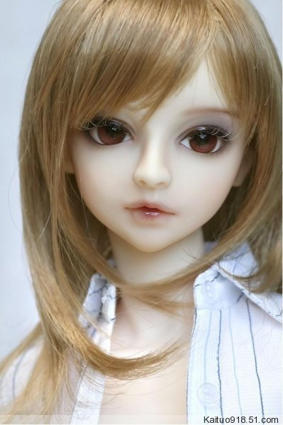 1/3th scale 60cm BJD doll BJD with face Make up,DIY Dress up. SD doll girl kaitu.not included Apparel and wig 1 4 bjd dollfie girl doll parts single head include make up shang nai in stock