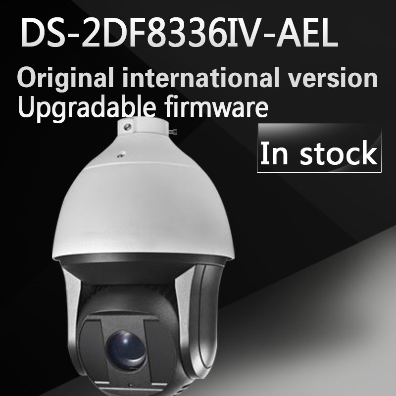 free shipping english version DS-2DF8336IV-AEL 3MP High Frame Rate Smart PTZ Camera 36X Optical Zoom speed dome camera
