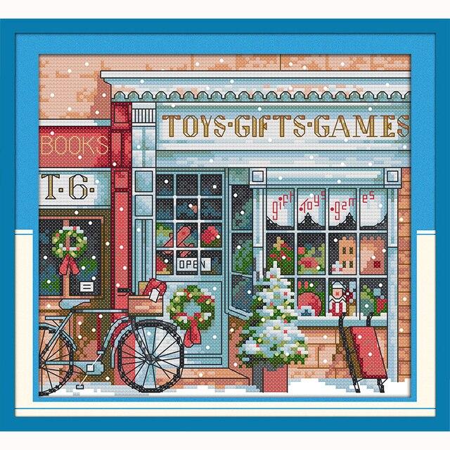 Juguete de regalo tienda de dibujos animados kits de punto de cruz ...