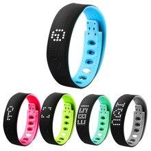 Новый высокое качество умный браслет Bluetooth 4.0 Фитнес Водонепроницаемый Спорт Шагомер носимых Напульсники 5 цветов