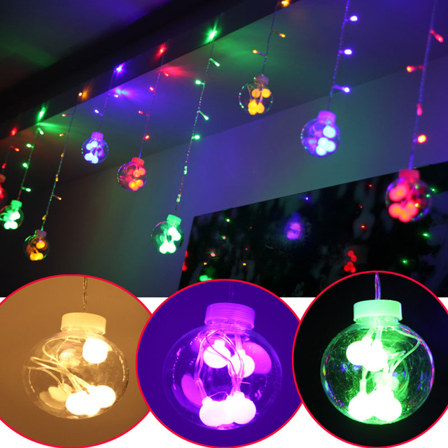 Glass Bulb Globe String Lights With Clear Bulbs Backyard Patio Lights  Vintage Bulbs Outdoor Garland Wedding
