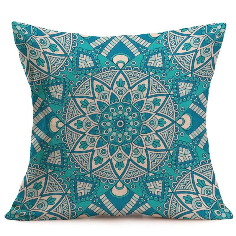 pillow covers decorative New Bohemian Pattern Throw Pillow Car Cushion Pillowcase Home Decor x30404