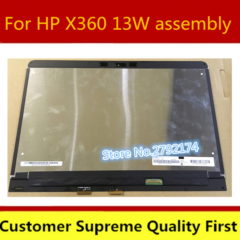 13.3 inch LCD Touch Screen For HP X360 13W assembly LN133HCE-GP1 1920*1080 Touch Screen+LCD Screen Digitizer