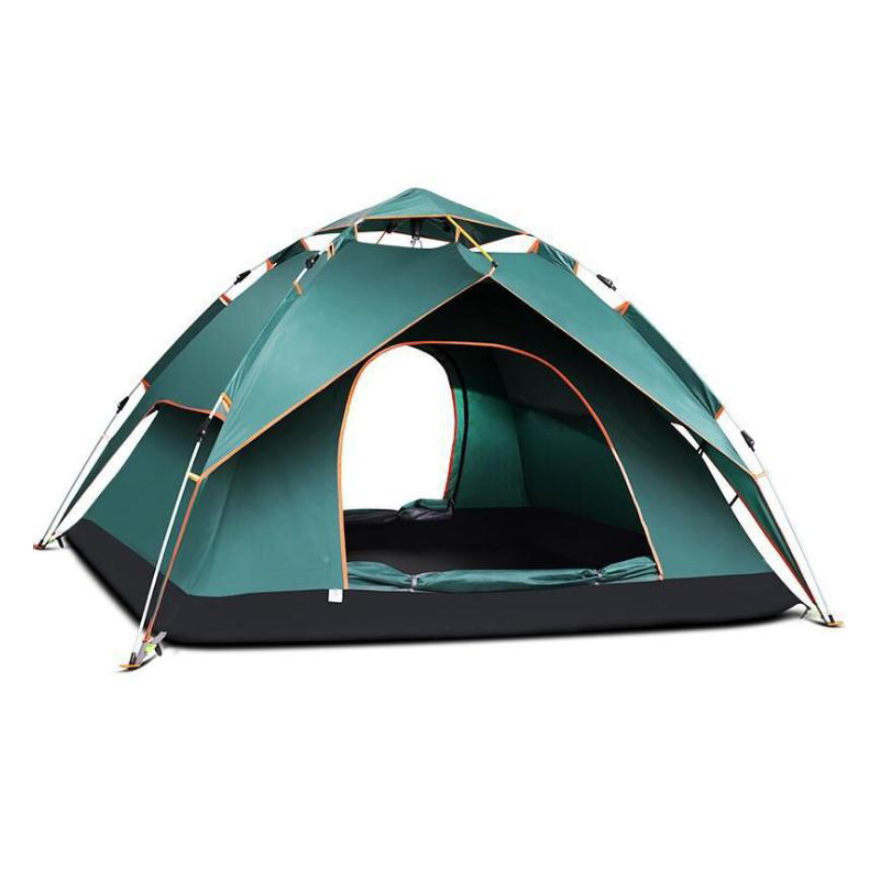 Quick Automatic Opening Outdoor Climbing Camping Camouflage Tent Spring Summer Autumn 240*210*135cm Travel tent