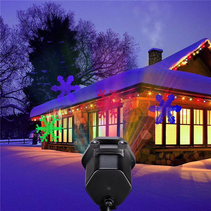 Outdoor Christmas Lawn Led Projector Laser Lights Dynamic