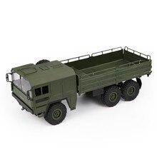 JJRC Q64 1:16 6WD control remoto Camión Militar suspensión todoterreno vehículo rc coche todoterreno escalada Coche