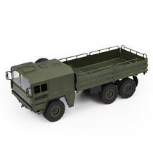 Jjrc q64 1:16 6wd 원격 제어 군사 트럭 서스펜션 오프로드 차량 rc 자동차 오프로드 클라이밍 카