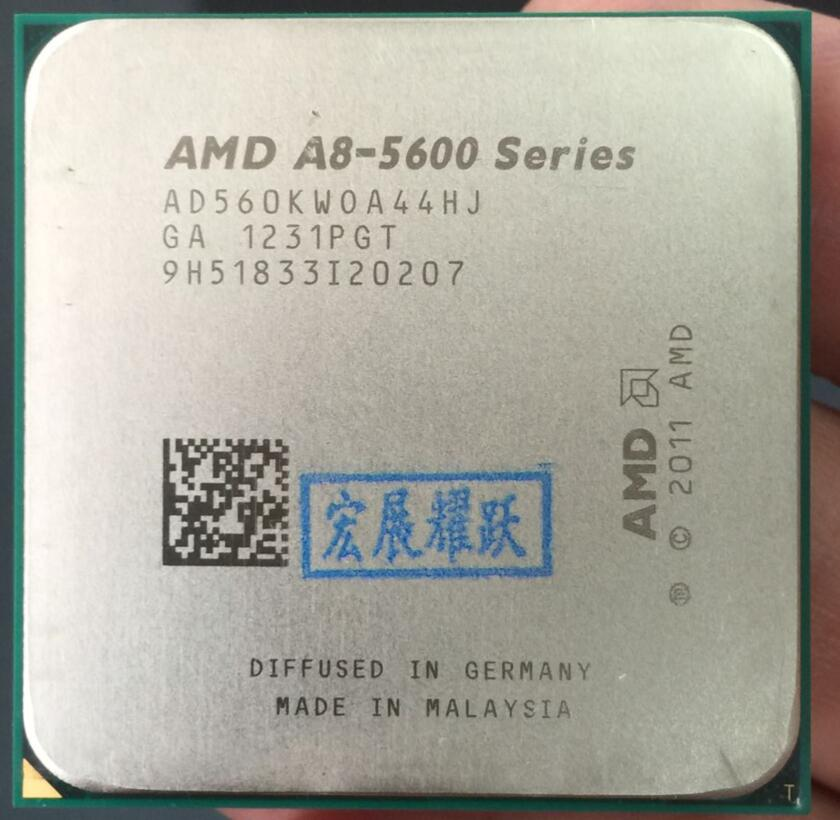 PC Computer AMD A-Series APU X4  A8-5600K  A8 5600K  FM2 Quad-Core CPU  100% Working Properly Desktop Processor