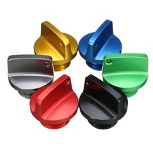 CNC Aluminum Multi-color Oil Filler Cap Plug For Kasawaki Honda/Ducati/Yamaha Triumph