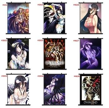Overlord Anime manga wall Poster Scroll