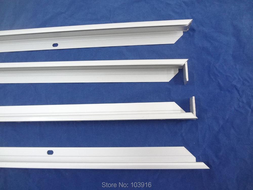 1 x Aluminum frame for solar panel DIY 6x6 36 cells solar cell good design