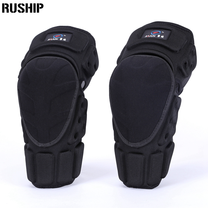 Kevlar 2pcs Knee and Elbow Support Adult Field Pulley Bike Motorcycle Knee Protector Brace Protection Elbow
