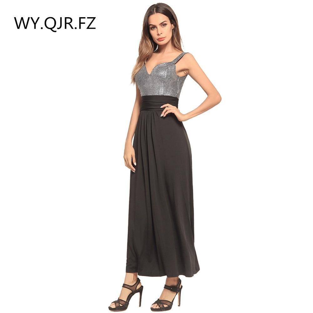 HYS0121H#European Fashion Women Halter Strapless Long