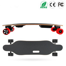 TG 2 Hub Motor 8800mAh Patented Electric Skateboard Longboard 36V Battery Removable With 2.4GHz Digital Remote Controller