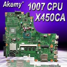Материнская плата Akemy для Asus X450CC X450CA с процессором 1007U 2 Гб памяти