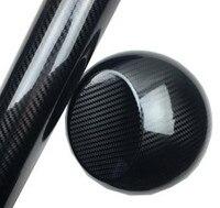 5x59FT глянцевая черная 5D углеродное волокно виниловая пленка высокая глянцевая основа мотоцикл наклейки для автомобиля