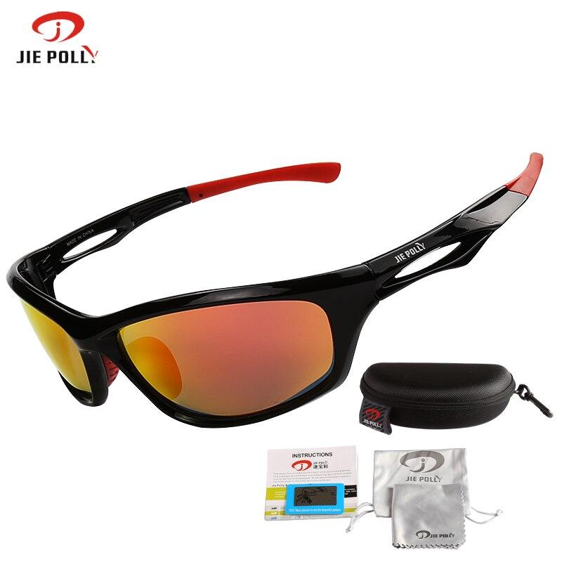 Die Beste Qualität Von Jiepolly Sport Sonnenbrille Männer Fahren Angeln Schutzbrillen Sonnenbrille Im Freien Ausrüstung Schützen Augen Anti-uv