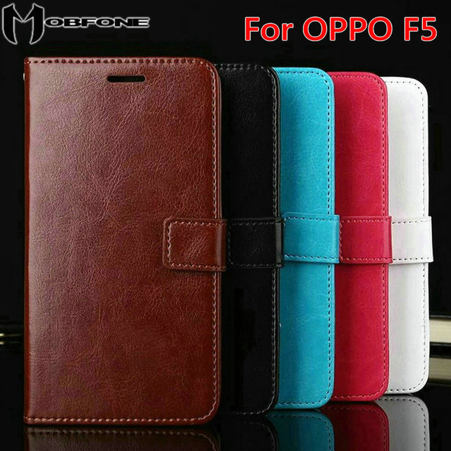 High quality flip leather cover case for oppo f5 f5 youth a73 high quality flip leather cover case for oppo f5 f5 youth a73 60 stopboris Gallery