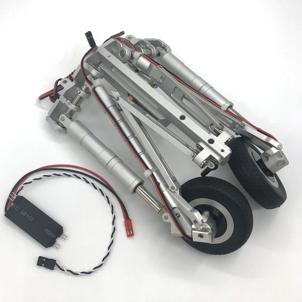 full metal main landing gear of 105mm F16 F 16 HSD Hobby rc airplane model-in Parts & Accessories from Toys & Hobbies    1