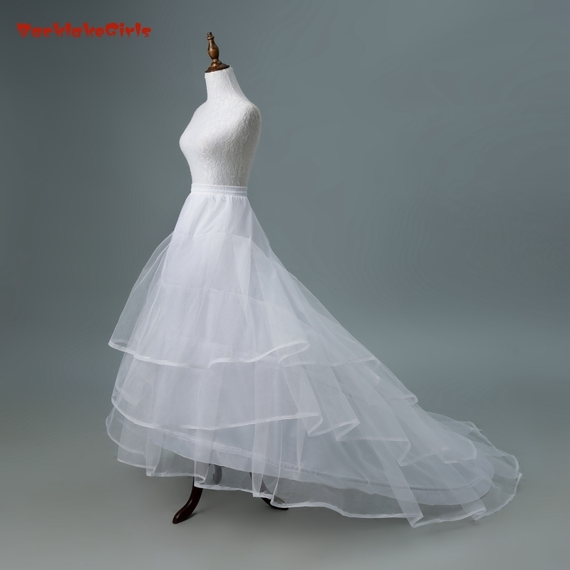Wedding Accessories Jupon Mariage 2019 New Elastic Waist White Tulle 4hoops Petticoats Wholesale Enaguas Para El Vestido De Boda Cheap Wide Selection; Back To Search Resultsweddings & Events