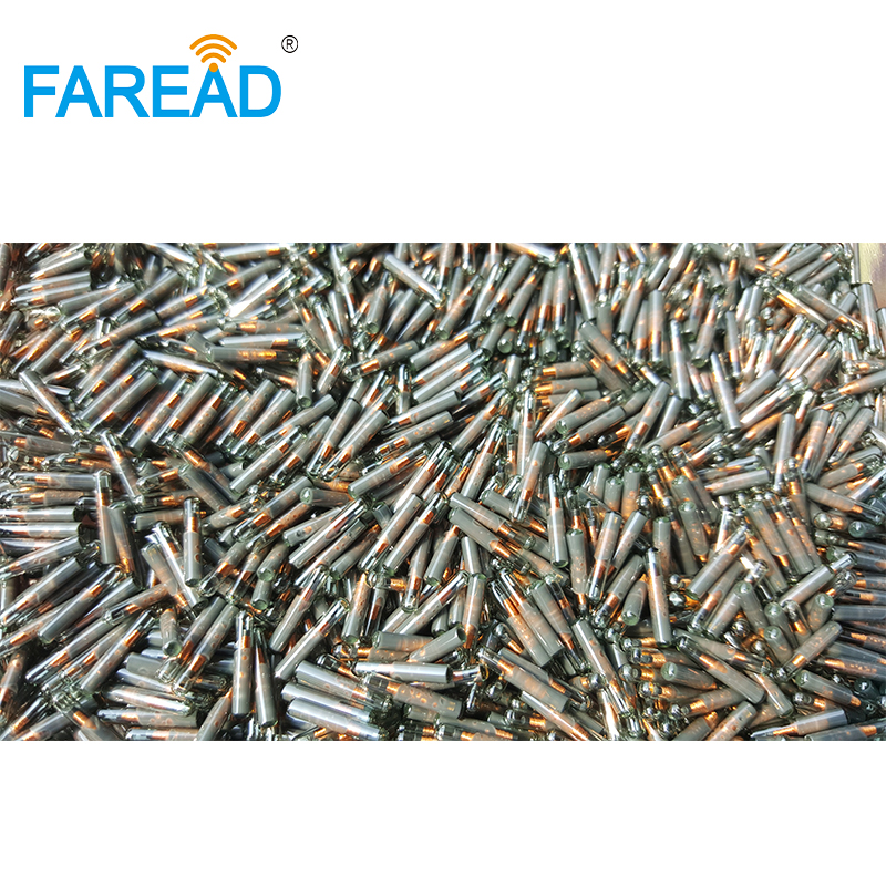 Free Shipping X10pcs 1.4*8mm Glass Tag RFID Tag Microchip 125khz Frequency EM Chip Transponder