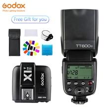купить Godox TT600s HSS GN60 2.4G Camera Flash Speedlite + X1T-S Transmitter for Sony A7 A7S A7R A7 II A6000 A58 A99 дешево