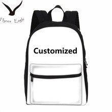 Hynes Eagle индивидуальные фото 3D печать рюкзаки холст рюкзак школьный для ноутбука рюкзаки путешествия повседневные Рюкзаки