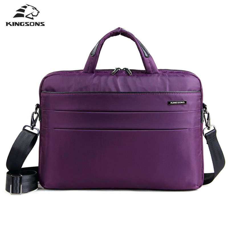 Kinsons 14.1 inch Laptop Bag Nylon Waterproof Men Women Handbag&Crossbody Bag Business Fashion Briefcase Shoulder Messenger Bag все цены