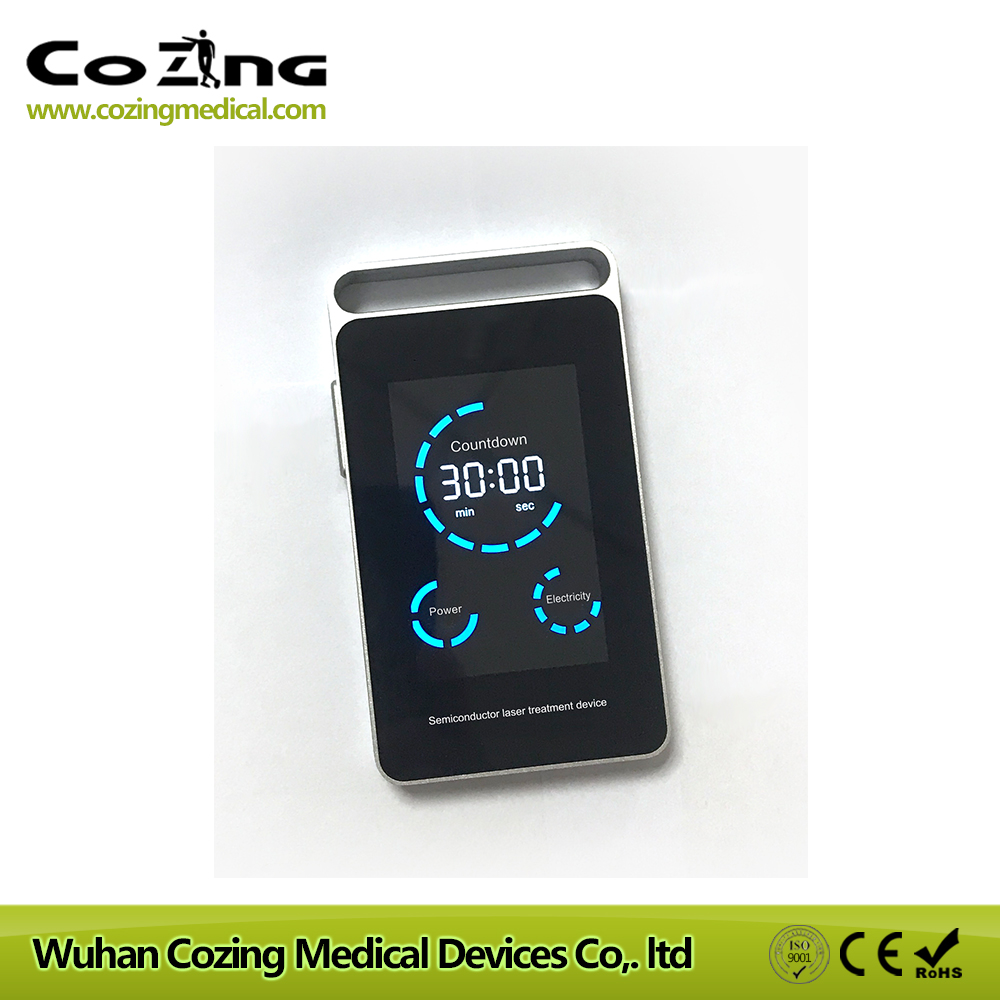 Laser watch treatment 650nm allergic rhinitis physiotherapy products non allergic rhinitis factory price medical light cost for laser treatment