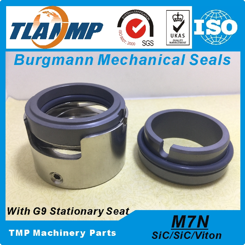 M7N-60 M7N/60-G9 M7N-60/G9  Burgmann Mechanical Seals for Pumps with G9 Stationary seat (SIC/SIC/VITON) 60