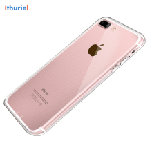 ithuriel For iPhone 7 Plus Case,Clear Soft Flexible Extremely Thin Gel TPU Transparent Scratch-Proof Case for 6 6s plus
