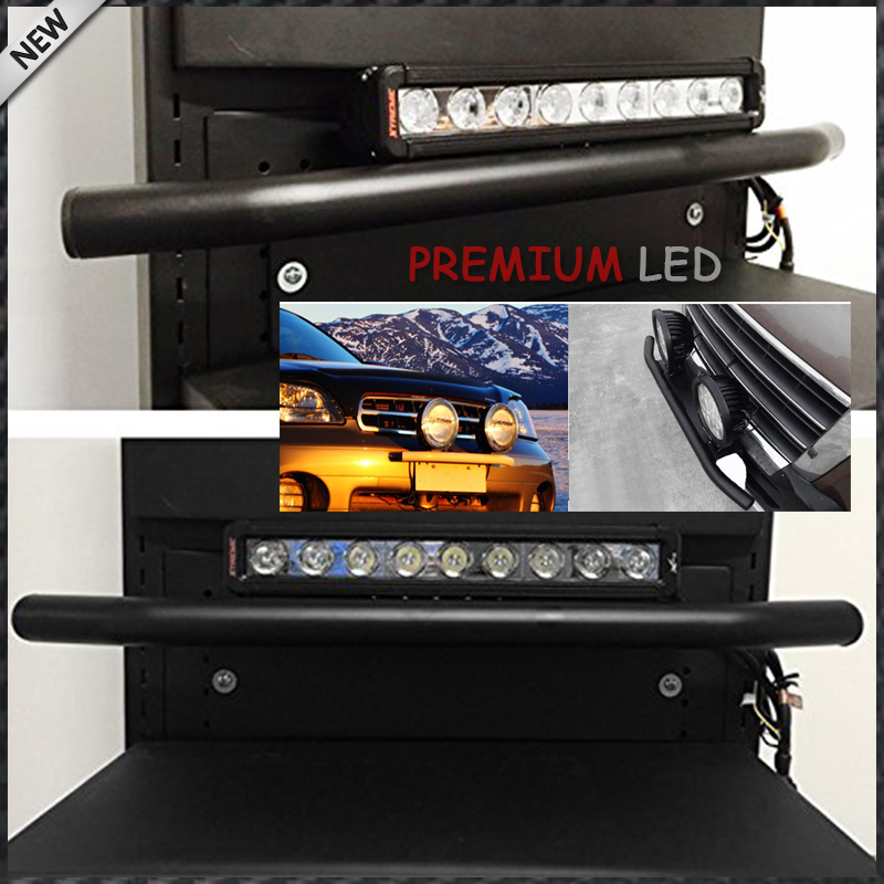 1pc bull bar style front bumper license plate mount bracket holder 1pc bull bar style front bumper license plate mount bracket holder for off road lights led work lamps black universal fit in license plate from aloadofball Choice Image
