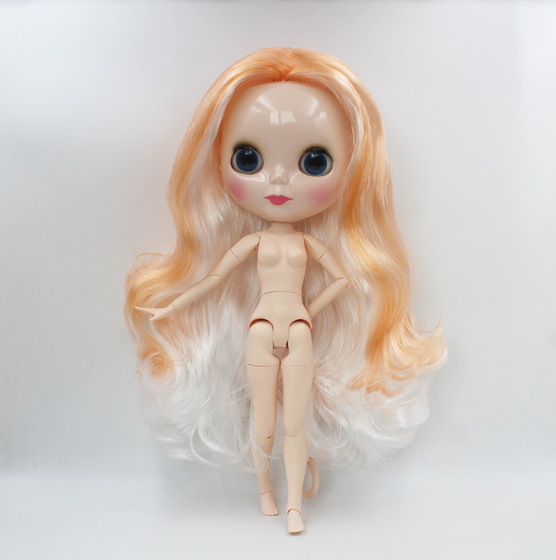 Free Shipping big discount RBL-564J DIY Nude Blyth doll birthday gift for girl 4color big eye doll with beautiful Hair cute toyFree Shipping big discount RBL-564J DIY Nude Blyth doll birthday gift for girl 4color big eye doll with beautiful Hair cute toy