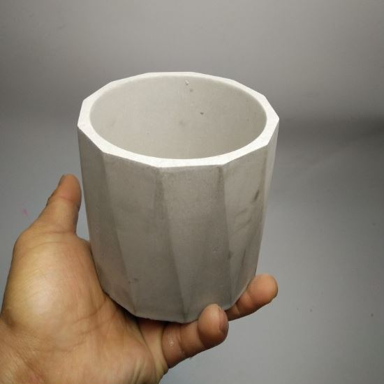 3d Vase Mold Silicone Custom Made Silica Cement Mould Silicone