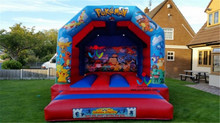 4X4M Hot jump Pad Inflatable Bouncer Inflatable Bouncy Castle