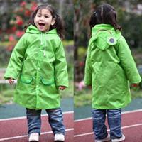 BP супер мило Детский дождевик мультфильм Карамельный цвет полиэстер детей износ дождя Водонепроницаемый дождь костюм JJ SYYY 4