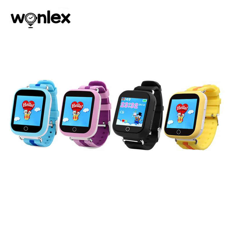 Wonlex GW200S Popular Kids' Smart Watch with Wifi Anti-lost Monitor GPS Positioning 1.54 Inches Touch Screen SOS Helper Tracker